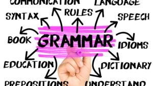 英会話 文法
